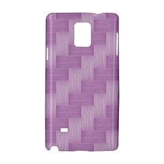 Purple Pattern Samsung Galaxy Note 4 Hardshell Case by Valentinaart