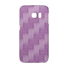 Purple Pattern Galaxy S6 Edge by Valentinaart