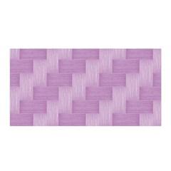 Purple Pattern Satin Wrap by Valentinaart