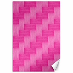 Pink Pattern Canvas 20  X 30   by Valentinaart