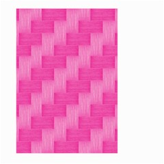Pink Pattern Large Garden Flag (two Sides) by Valentinaart