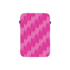 Pink Pattern Apple Ipad Mini Protective Soft Cases by Valentinaart
