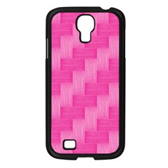 Pink Pattern Samsung Galaxy S4 I9500/ I9505 Case (black) by Valentinaart
