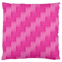 Pink Pattern Large Flano Cushion Case (two Sides) by Valentinaart