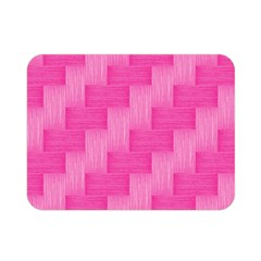 Pink Pattern Double Sided Flano Blanket (mini)  by Valentinaart