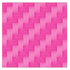 Pink Pattern Large Satin Scarf (square) by Valentinaart