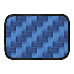 Blue Pattern Netbook Case (medium)  by Valentinaart
