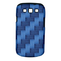 Blue Pattern Samsung Galaxy S Iii Classic Hardshell Case (pc+silicone) by Valentinaart