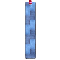 Blue Pattern Large Book Marks by Valentinaart