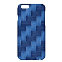 Blue Pattern Apple Iphone 6 Plus/6s Plus Hardshell Case by Valentinaart