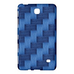 Blue Pattern Samsung Galaxy Tab 4 (8 ) Hardshell Case  by Valentinaart