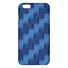 Blue Pattern Iphone 6 Plus/6s Plus Tpu Case by Valentinaart