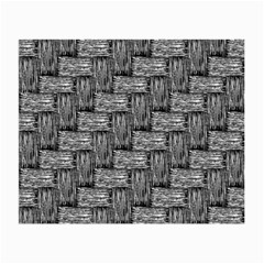 Gray Pattern Small Glasses Cloth (2 Side) by Valentinaart