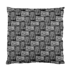 Gray Pattern Standard Cushion Case (two Sides) by Valentinaart