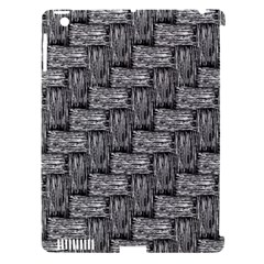 Gray Pattern Apple Ipad 3/4 Hardshell Case (compatible With Smart Cover) by Valentinaart