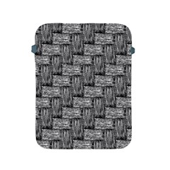 Gray Pattern Apple Ipad 2/3/4 Protective Soft Cases by Valentinaart