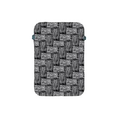 Gray Pattern Apple Ipad Mini Protective Soft Cases by Valentinaart
