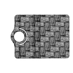 Gray Pattern Kindle Fire Hd (2013) Flip 360 Case by Valentinaart