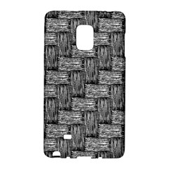 Gray Pattern Galaxy Note Edge by Valentinaart