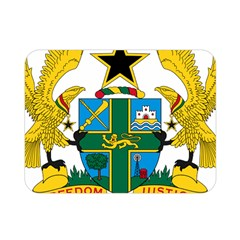 Coat Of Arms Of Ghana Double Sided Flano Blanket (mini)  by abbeyz71