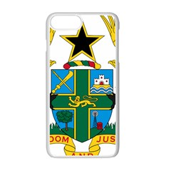 Coat Of Arms Of Ghana Apple Iphone 7 Plus White Seamless Case by abbeyz71