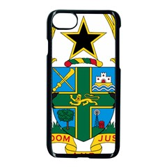 Coat Of Arms Of Ghana Apple Iphone 7 Seamless Case (black) by abbeyz71
