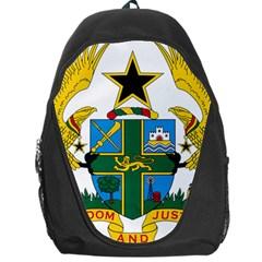 Coat Of Arms Of Ghana Backpack Bag by abbeyz71