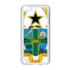Coat Of Arms Of Ghana Apple Ipod Touch 5 Case (white) by abbeyz71