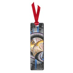 Fractal Tech Disc Background Small Book Marks by Simbadda