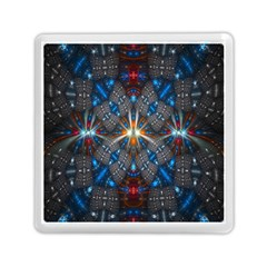 Fancy Fractal Pattern Memory Card Reader (square)  by Simbadda