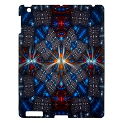 Fancy Fractal Pattern Apple Ipad 3/4 Hardshell Case by Simbadda