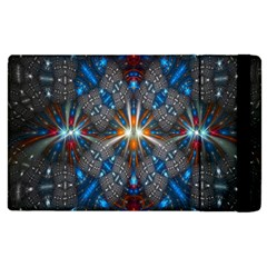 Fancy Fractal Pattern Apple Ipad 2 Flip Case by Simbadda