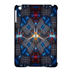 Fancy Fractal Pattern Apple Ipad Mini Hardshell Case (compatible With Smart Cover) by Simbadda