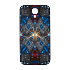 Fancy Fractal Pattern Samsung Galaxy S4 I9500/i9505  Hardshell Back Case by Simbadda