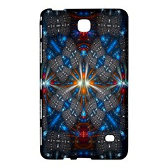 Fancy Fractal Pattern Samsung Galaxy Tab 4 (7 ) Hardshell Case  by Simbadda