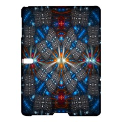 Fancy Fractal Pattern Samsung Galaxy Tab S (10 5 ) Hardshell Case  by Simbadda