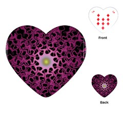 Cool Fractal Playing Cards (heart)  by Simbadda