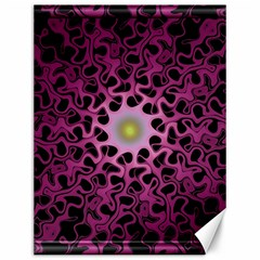 Cool Fractal Canvas 12  X 16   by Simbadda