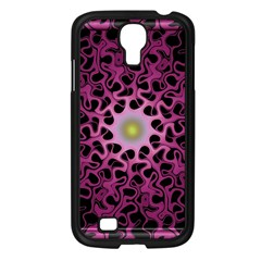 Cool Fractal Samsung Galaxy S4 I9500/ I9505 Case (black) by Simbadda