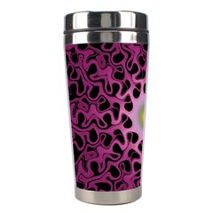 Cool Fractal Stainless Steel Travel Tumblers by Simbadda