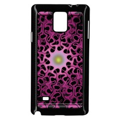 Cool Fractal Samsung Galaxy Note 4 Case (black)