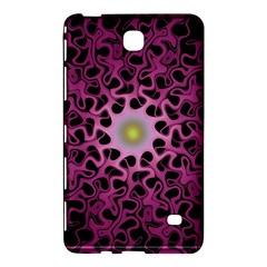 Cool Fractal Samsung Galaxy Tab 4 (8 ) Hardshell Case  by Simbadda