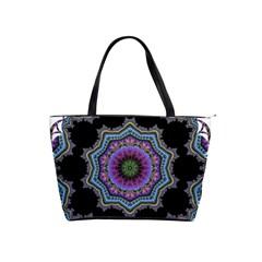 Fractal Lace Shoulder Handbags by Simbadda