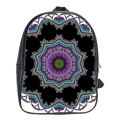 Fractal Lace School Bags(large)  by Simbadda