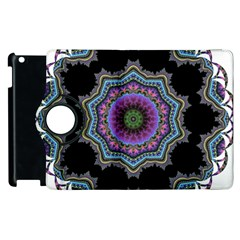 Fractal Lace Apple Ipad 2 Flip 360 Case by Simbadda