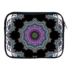 Fractal Lace Apple Ipad 2/3/4 Zipper Cases by Simbadda