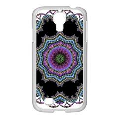 Fractal Lace Samsung Galaxy S4 I9500/ I9505 Case (white) by Simbadda