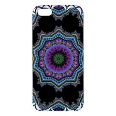 Fractal Lace Iphone 5s/ Se Premium Hardshell Case by Simbadda