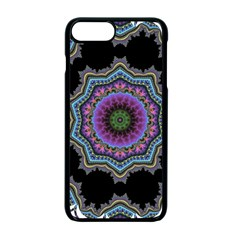 Fractal Lace Apple iPhone 7 Plus Seamless Case (Black) by Simbadda