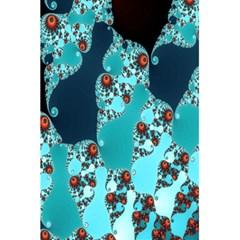 Decorative Fractal Background 5 5  X 8 5  Notebooks by Simbadda